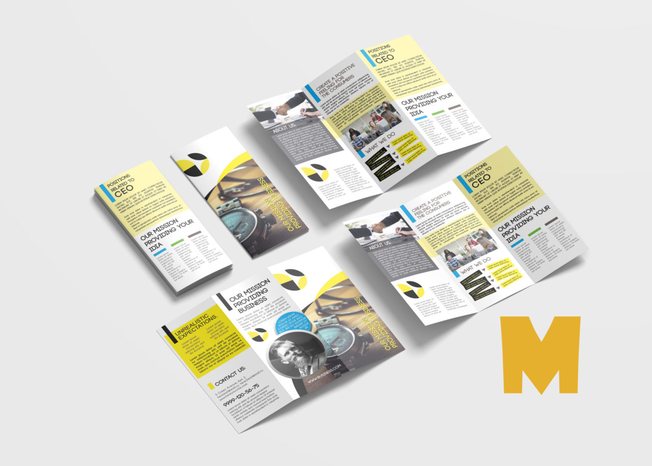 Watch Tri-Fold Brochure Template