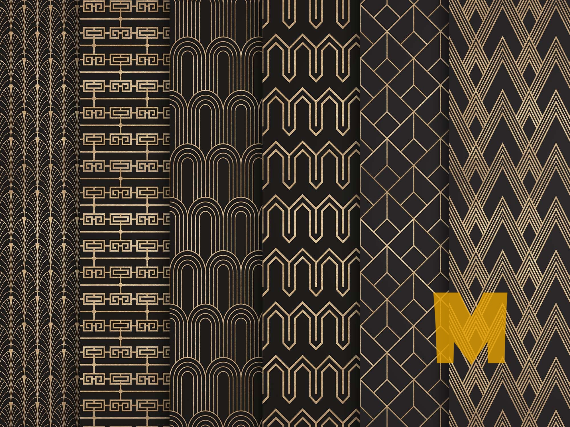 Antique Gold Patterns