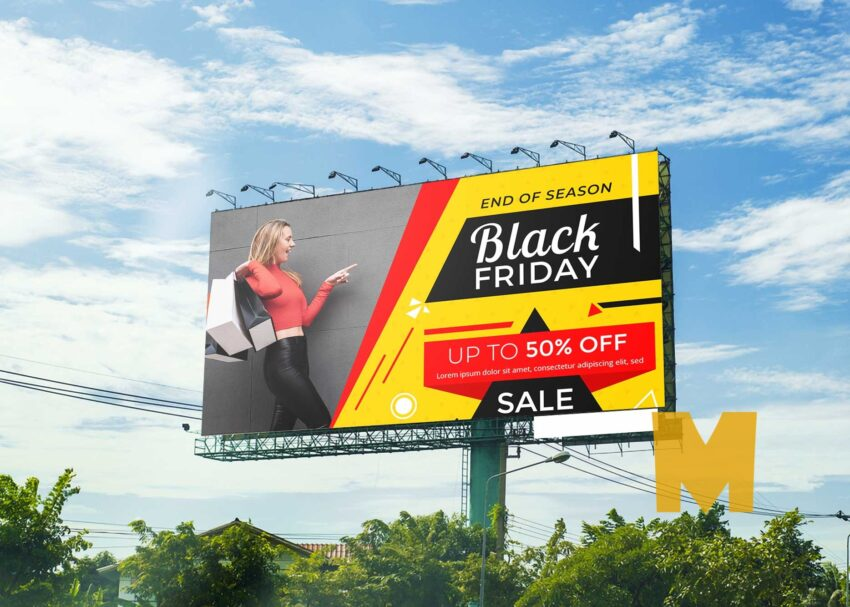 Free Billboard Mock up