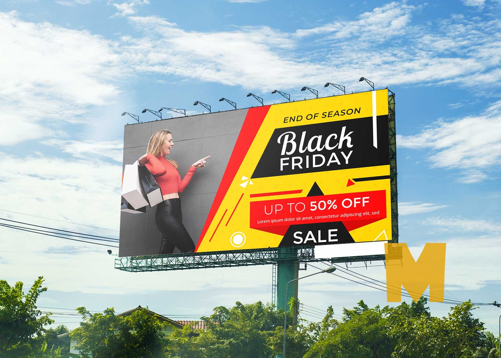 Free Billboard Mock up