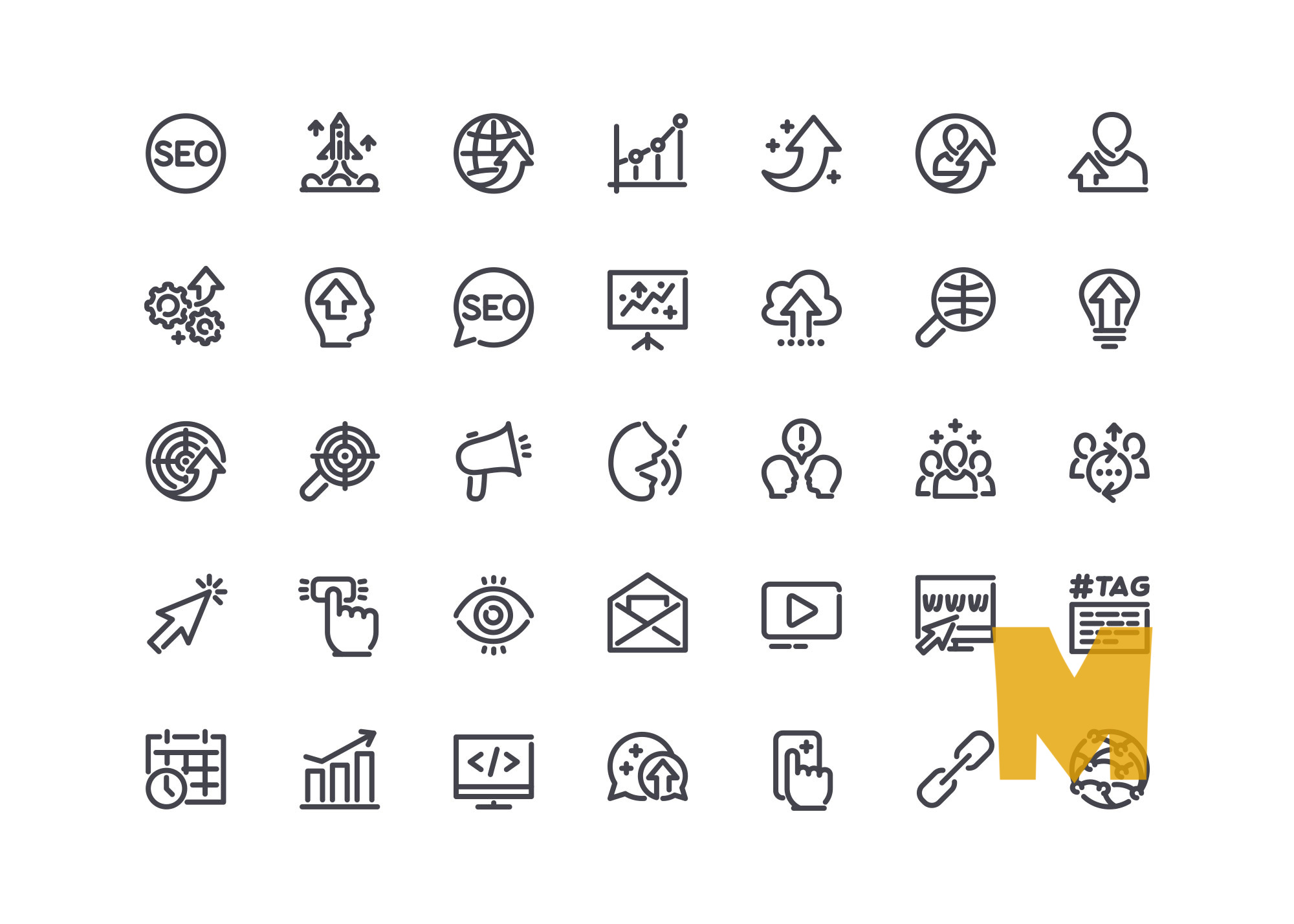 Ceo Menager Business Icon Set