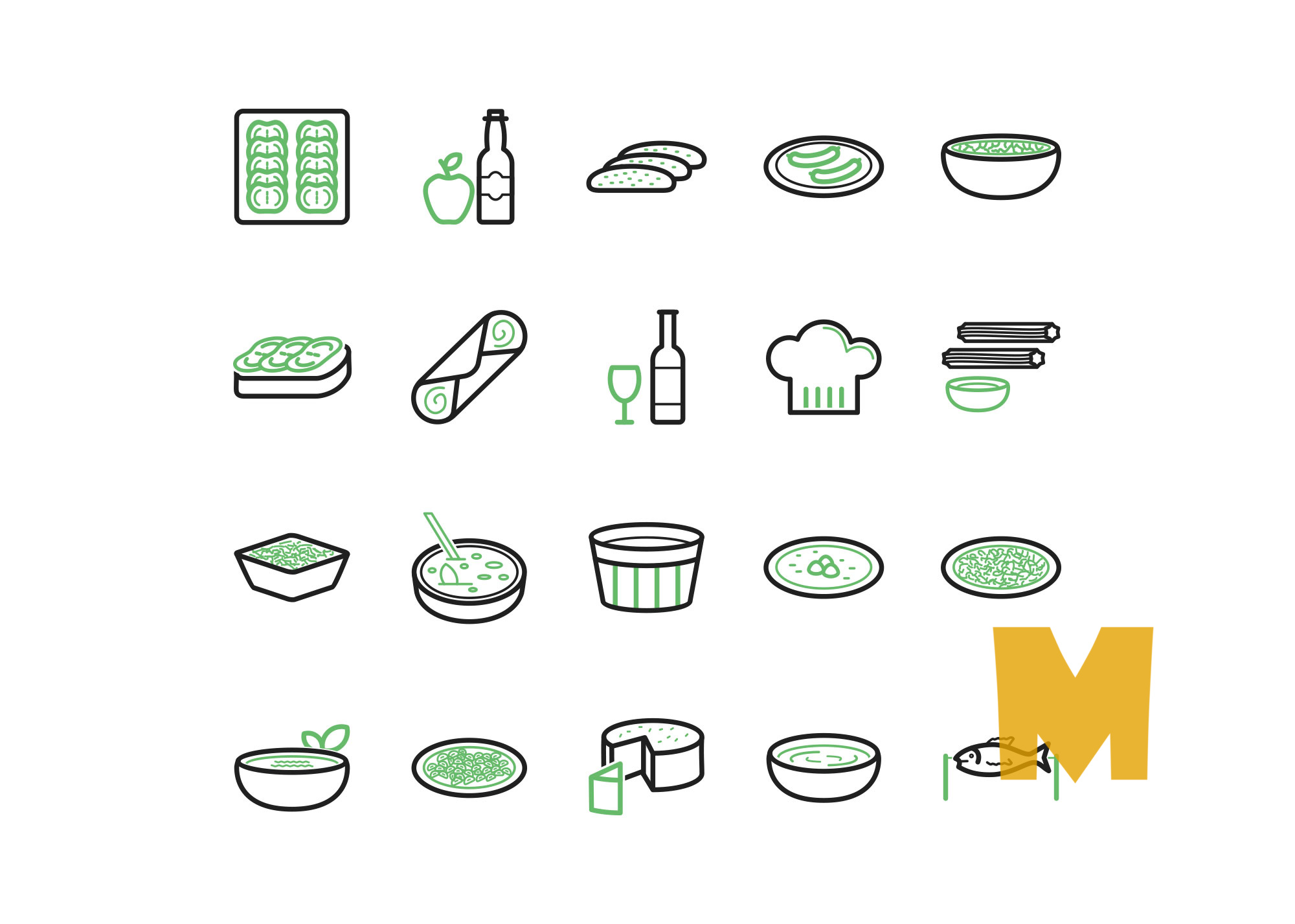 Fast Food Icon Sets