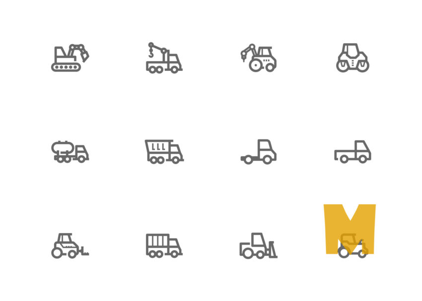 Free Construction Icon Set