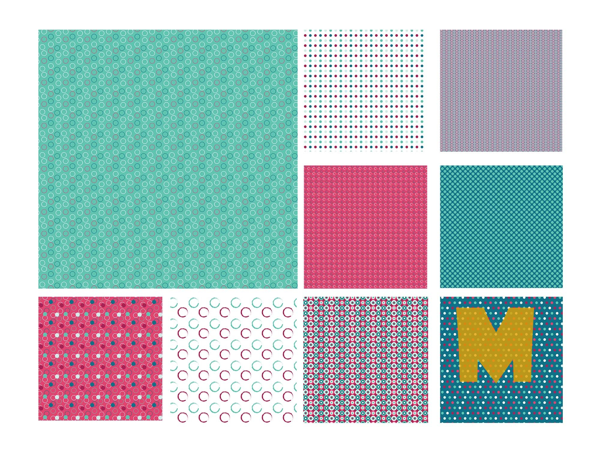 Seamless Circle Patterns