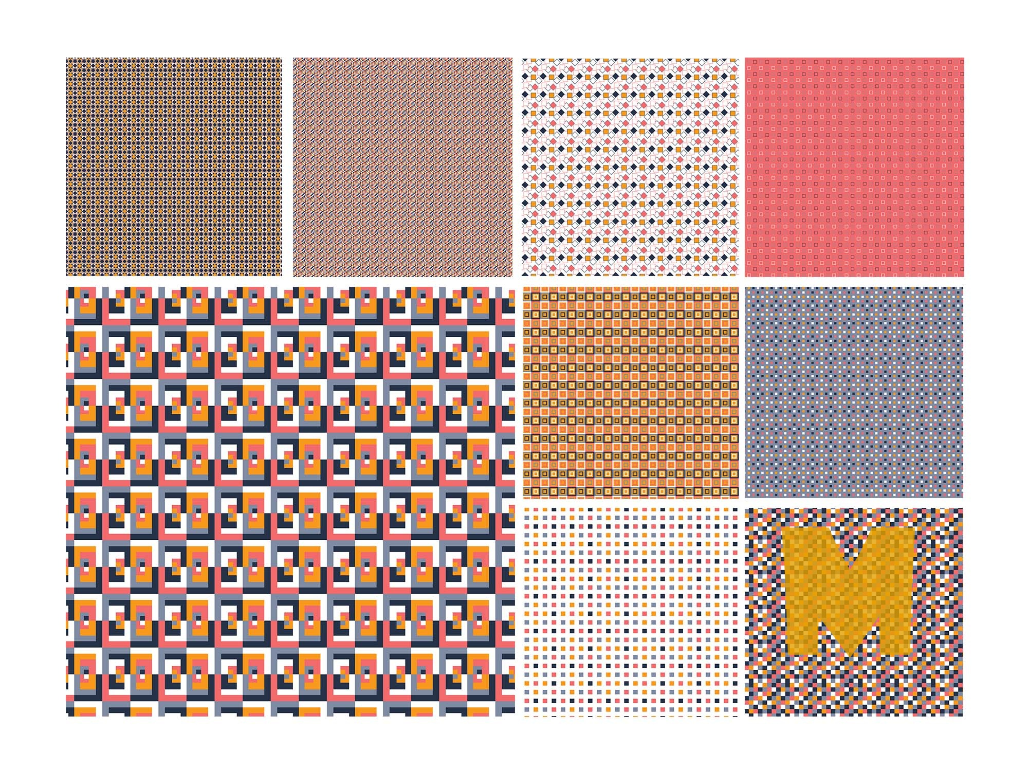Seamless Square Patterns