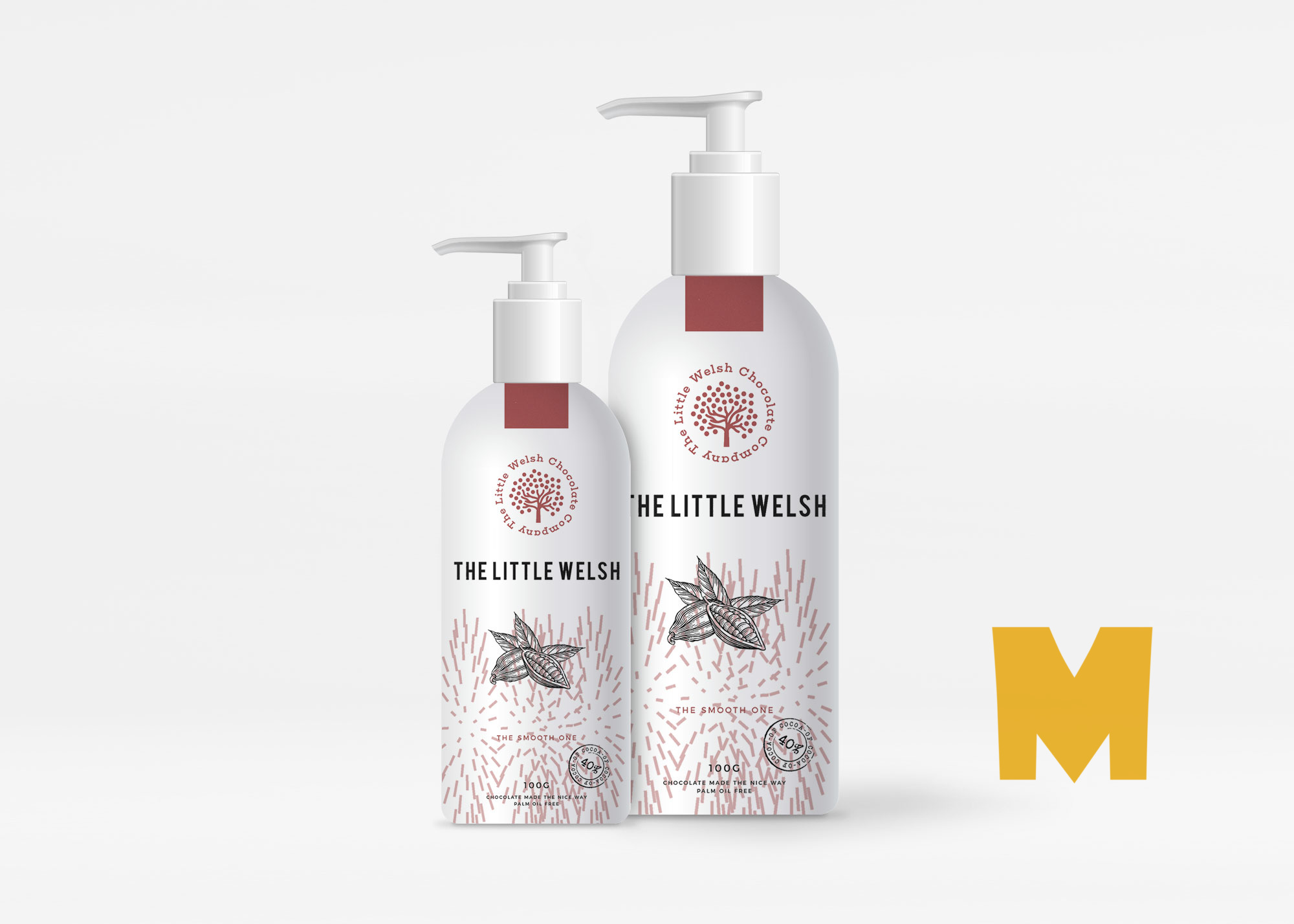 Shower Gel Bottle Mockup