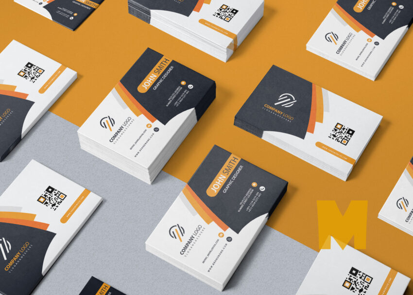 Business Card Mockup Presentation