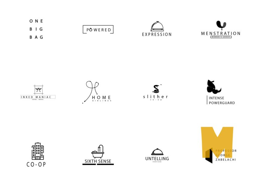 Company Logo Design Set
