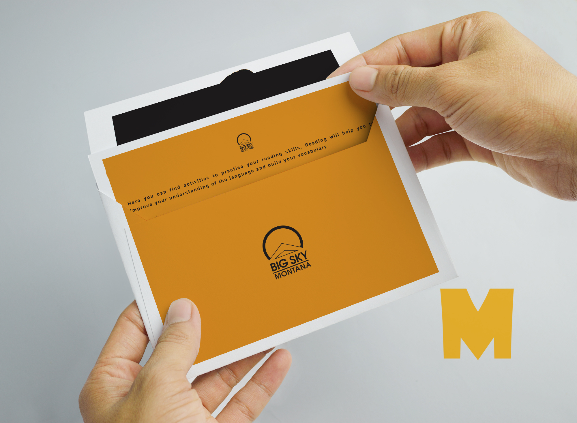Invitation Cover Mockup
