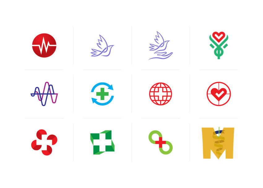 Medical Professional Icons Set