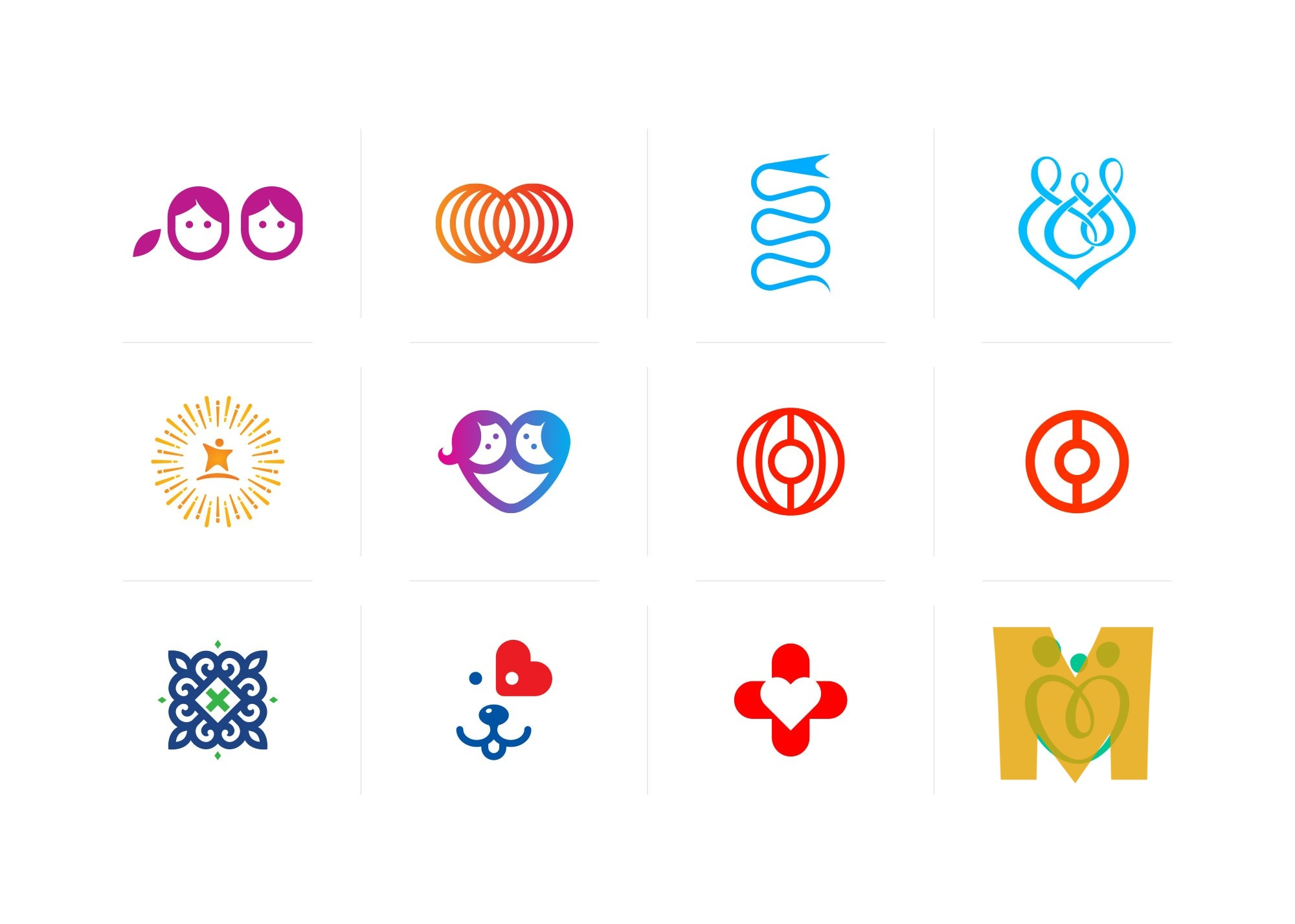 Medical Symbol Icons Set