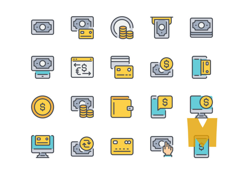 Payment Icon Design Set