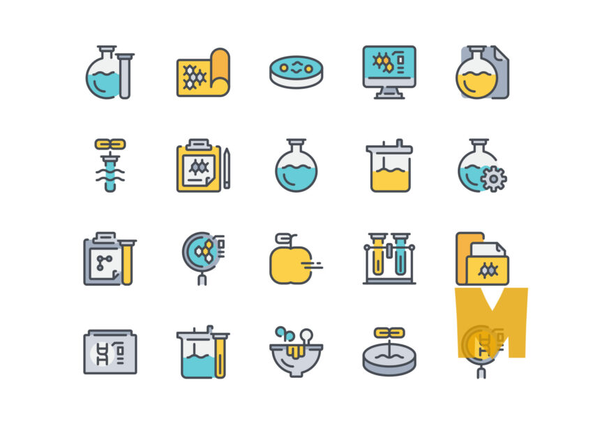 Science Icon Design Set
