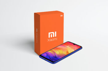 Mi Mobile Packaging Mockup
