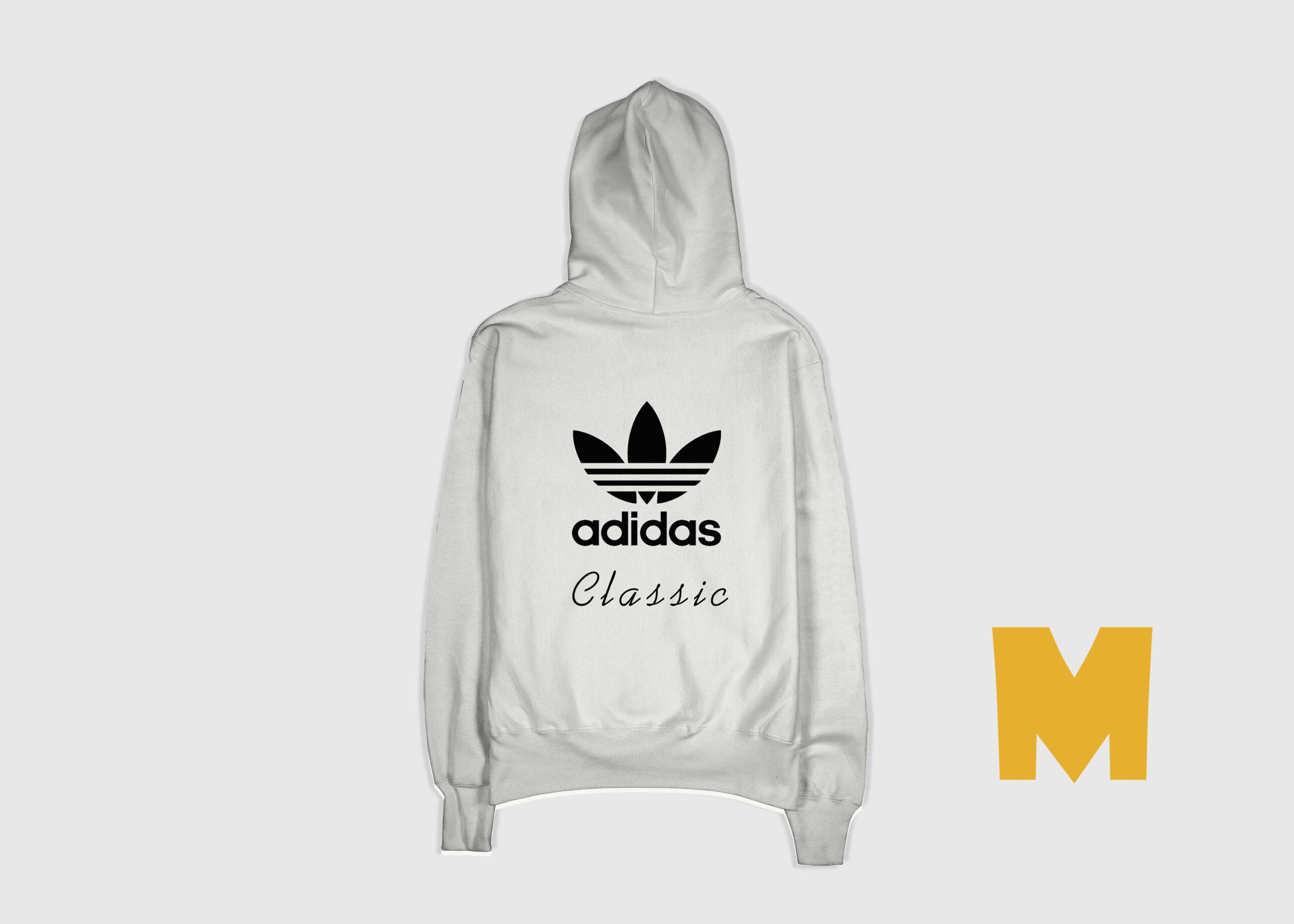 Adidas Back Design Jacket Mockup