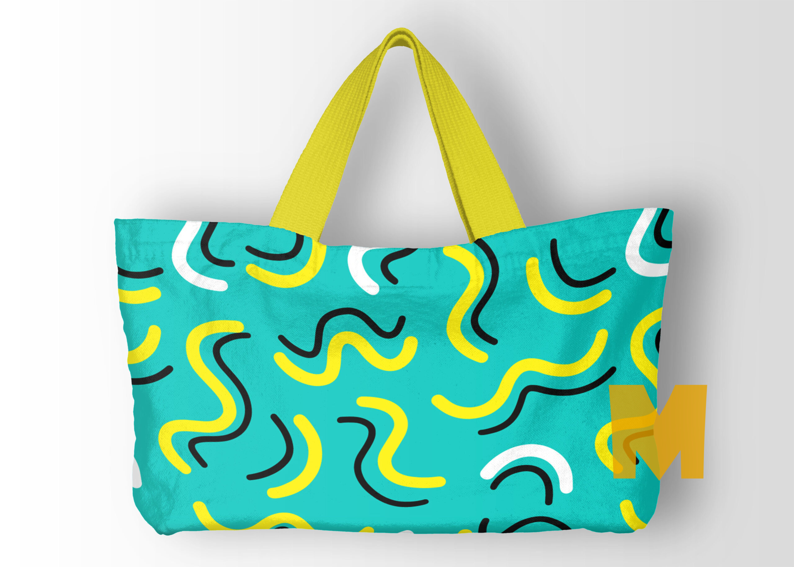 Aunty Canvas Bag Mockup