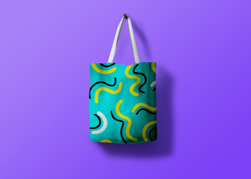 Clothe Tote Bag Design Mockup