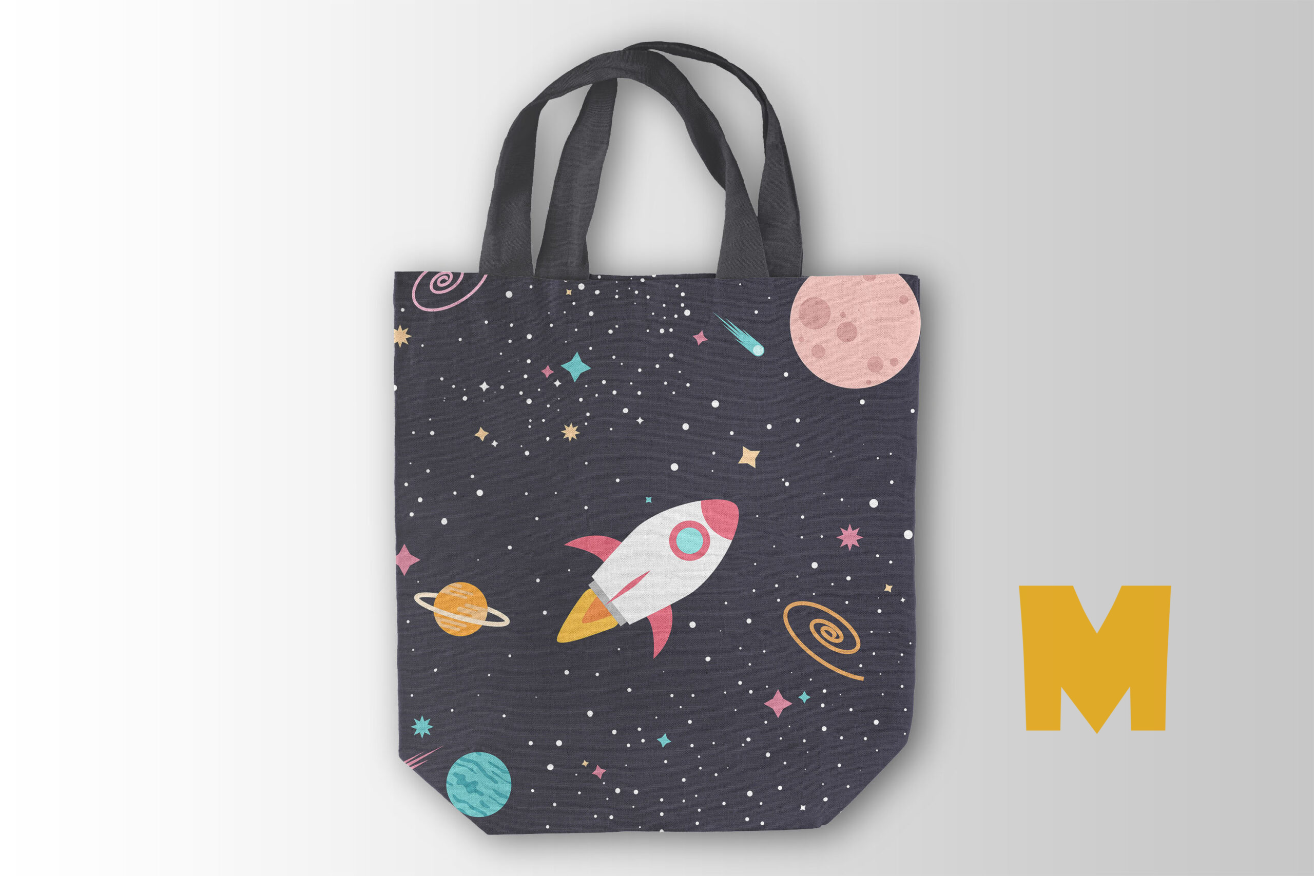 Embroidery Tote Bag Mockup