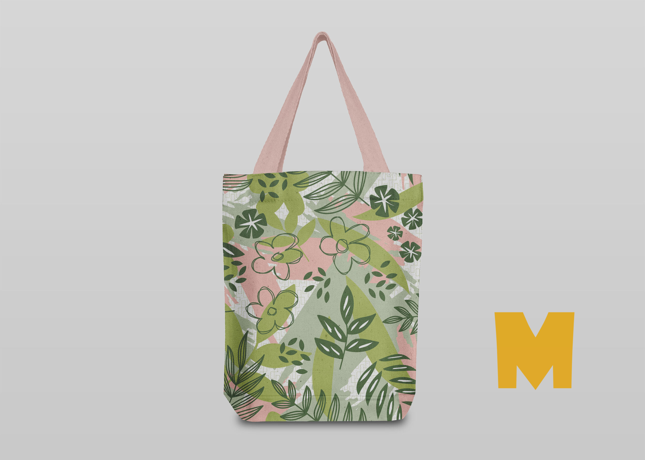 Fabric Shop Bag Mockup