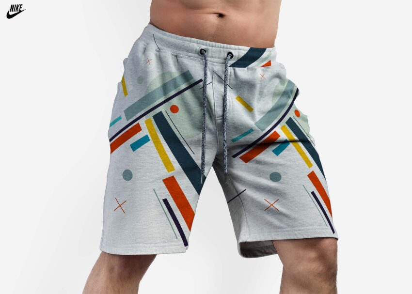 Nike Men s Gym Short Mockup
