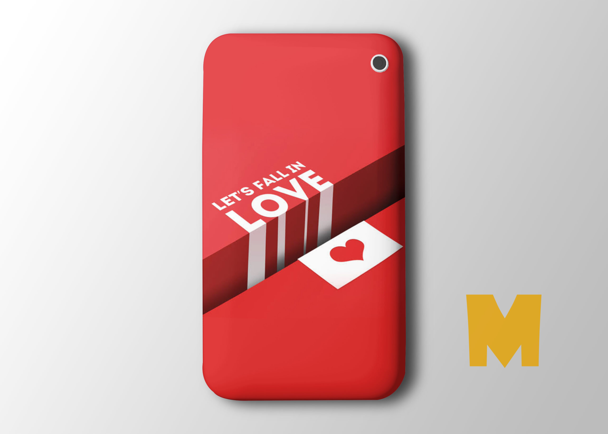 Phone Case Design Mockup