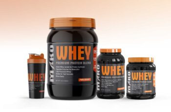 Supplement Product Mock-Up