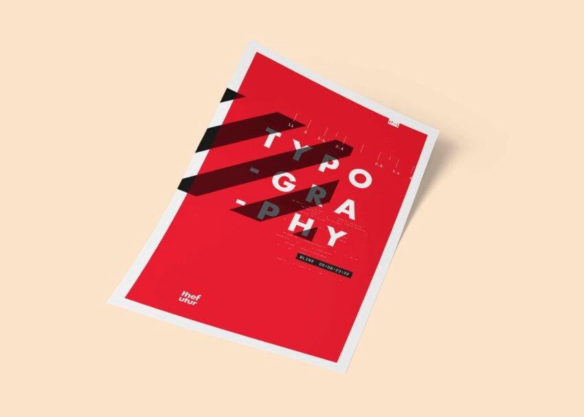Paper Poster Mockup