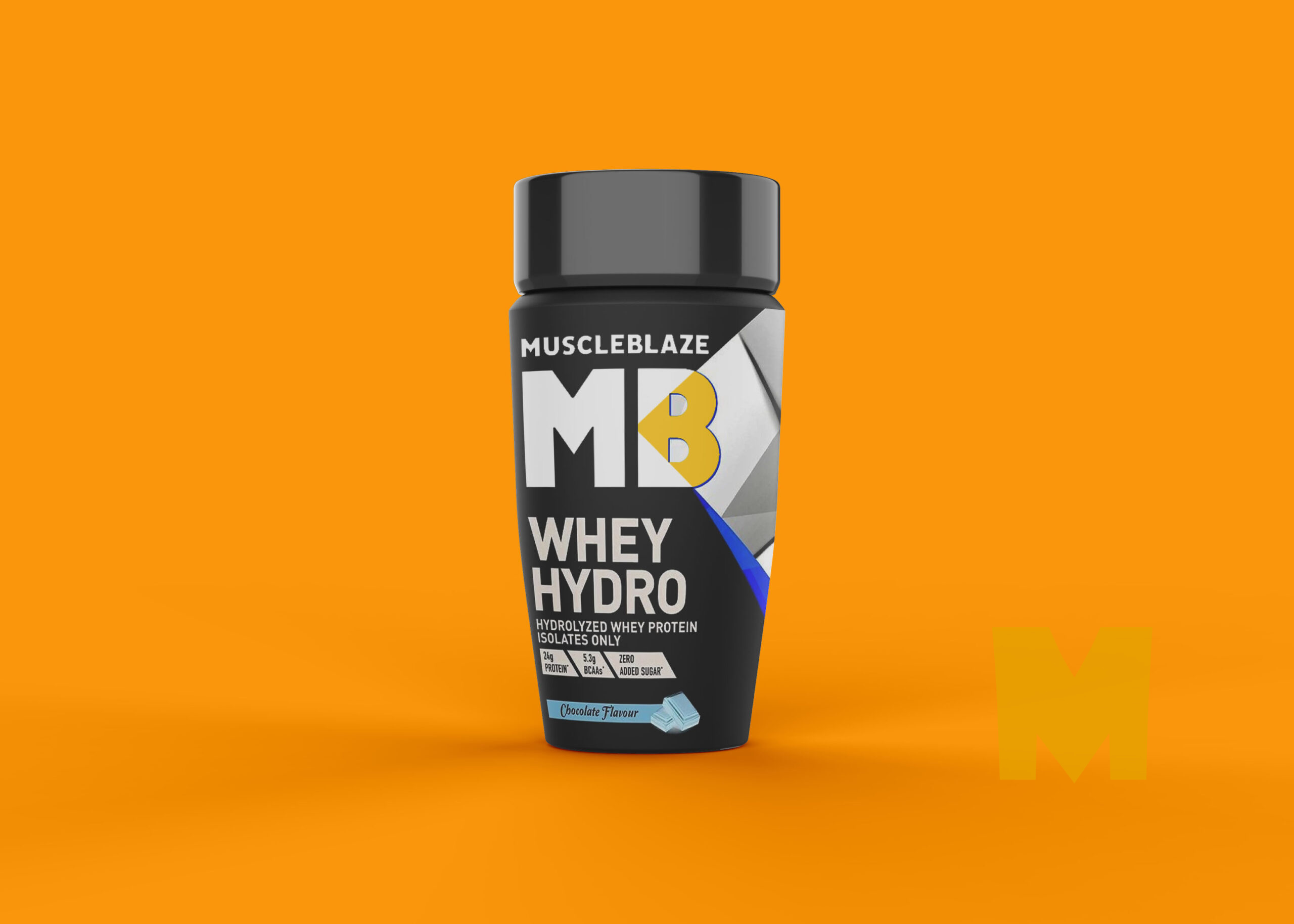 GYM Shake-up Bottle Mockup