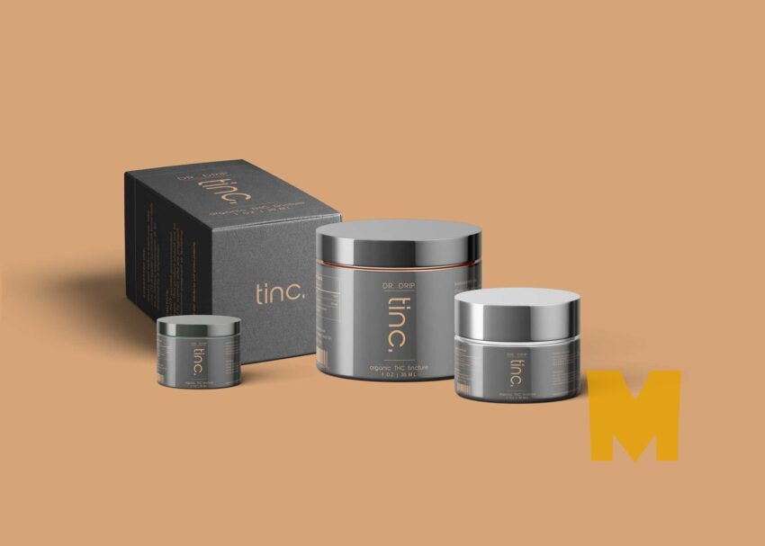 Beauty Cream Container Mock-up