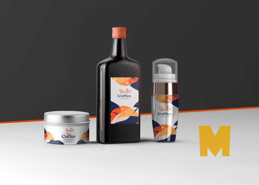 Oil Product Mock-UP