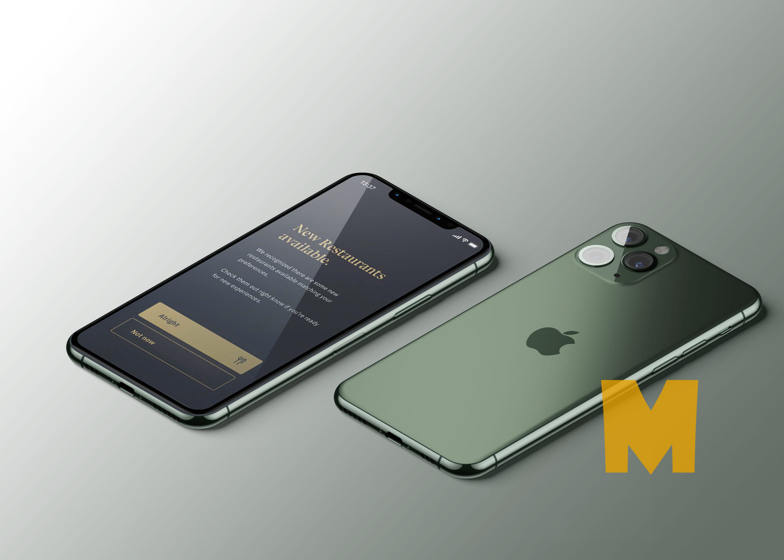 Free PSD Apple Phone Mockup