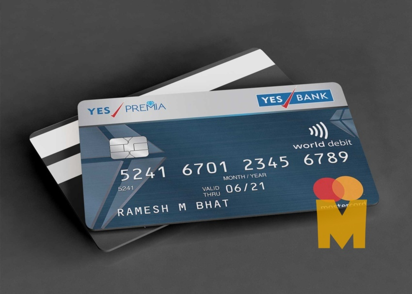 Free Membership Debit Card Mockup