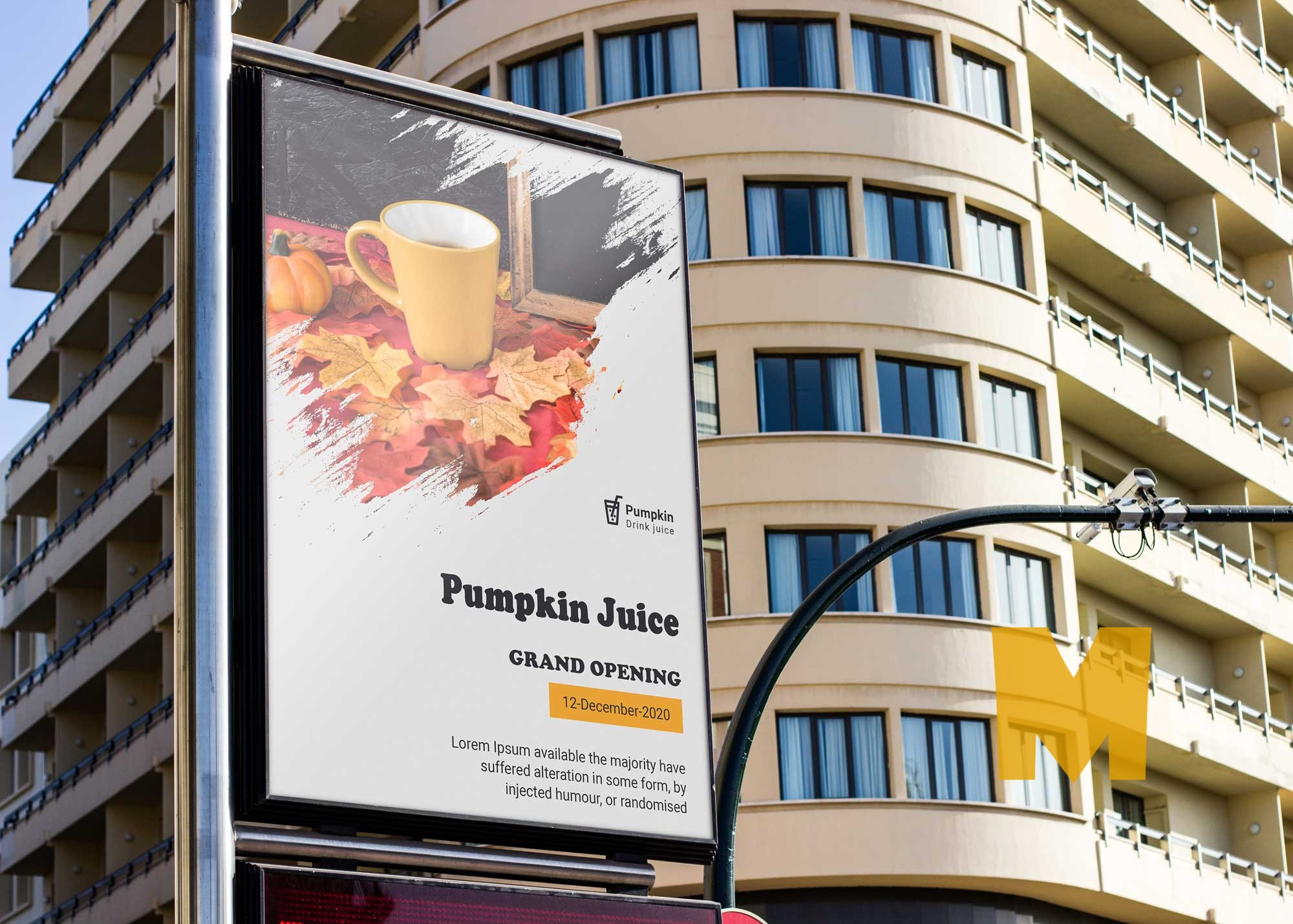 Free New Urban Billboard Mockup