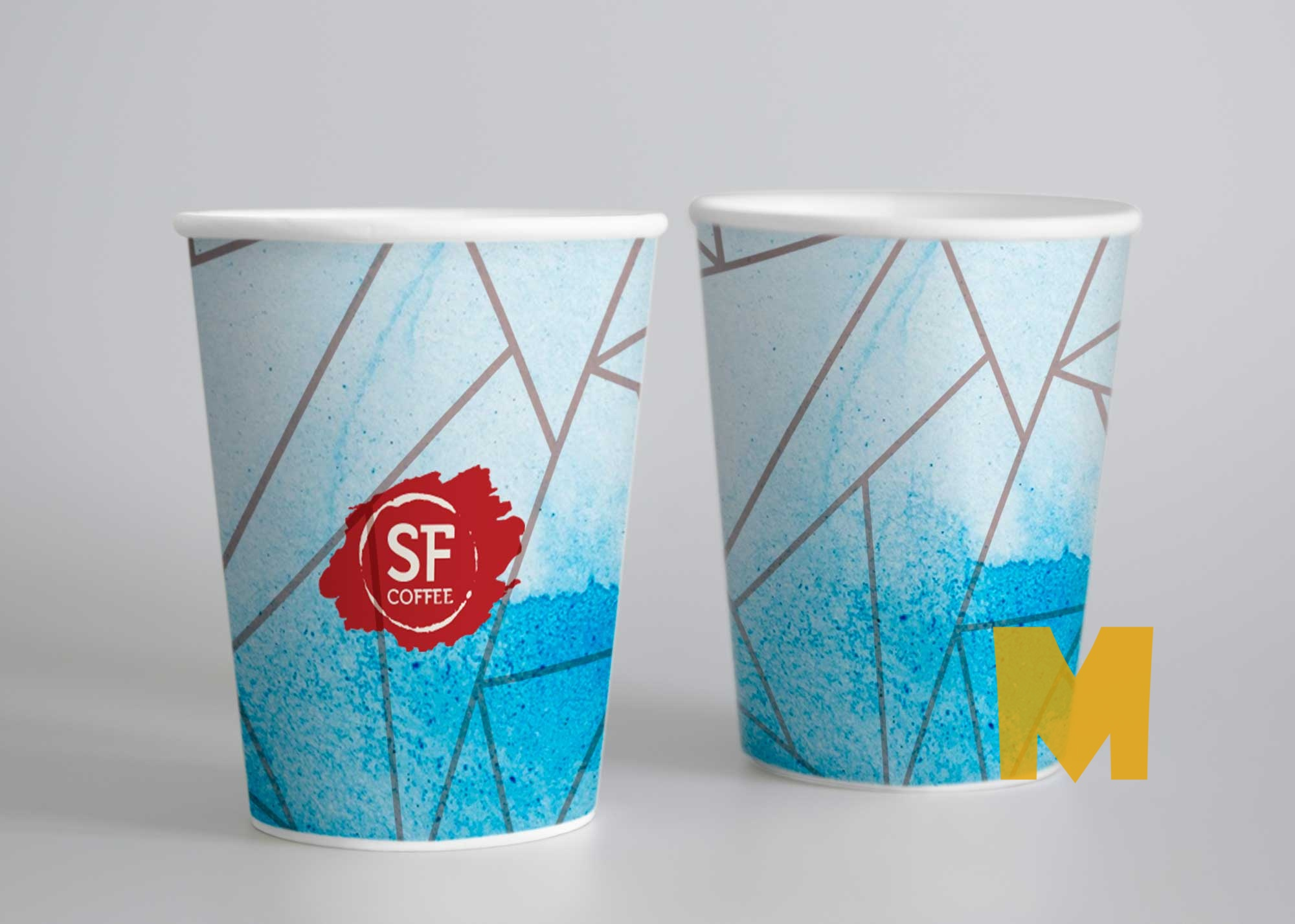 Free Paper Soup Cup Mockup