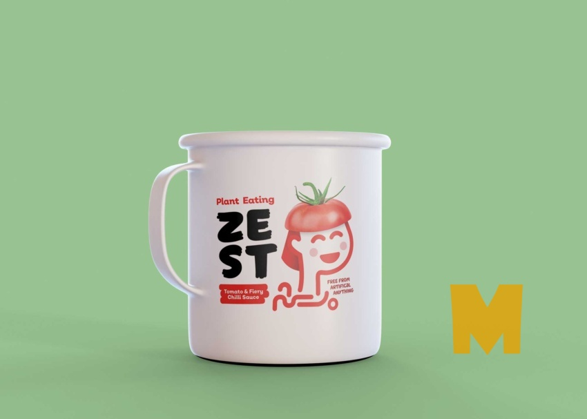 Free Soup Cup Mockup