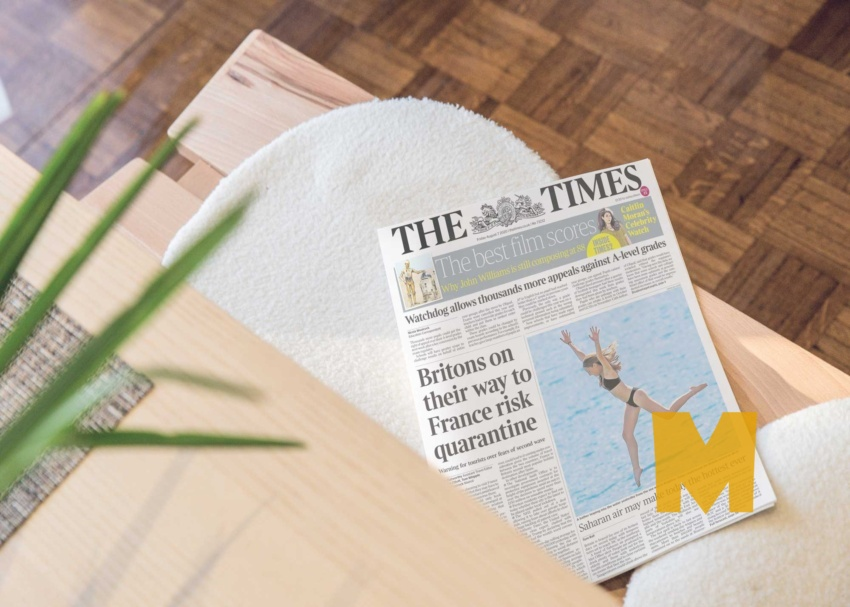 Free Newspaper Tabloid Mockup