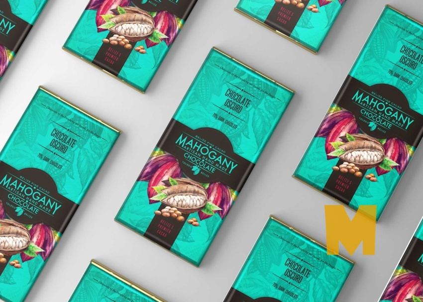 Free Chocolate Bundle Mockup