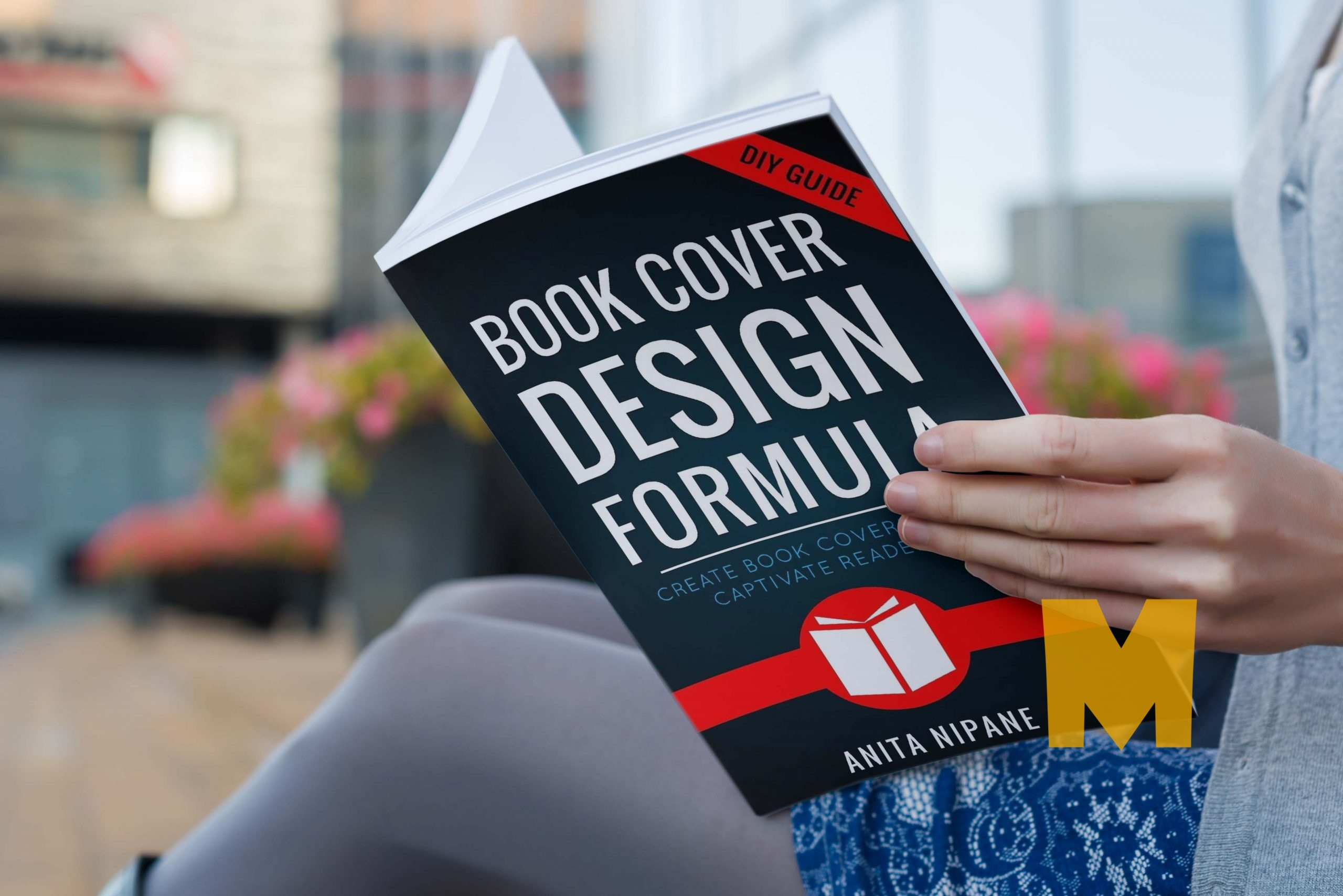Free Open Book Cover Mockup PSD