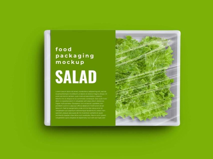 Fresh Food Packaging Mockup